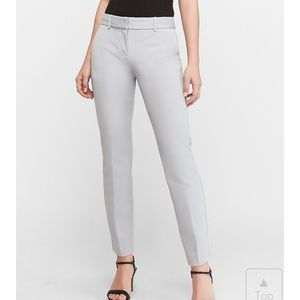 Express Mid Rise Ankle Columnist Pants 12S